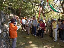 呉羽丘陵に日本海文化を探す歴史探訪歩行会事業